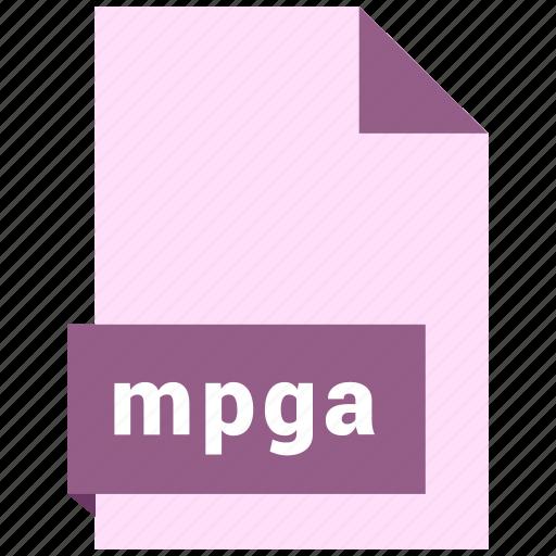audio file format, audio file formats, file format, file formats, mpga icon