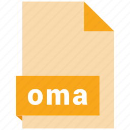 audio file format, audio file formats, file format, file formats, oma icon