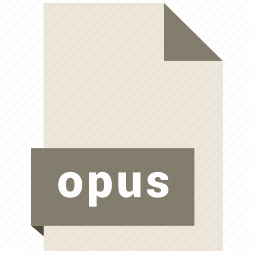 audio file format, audio file formats, file format, file formats, opus icon
