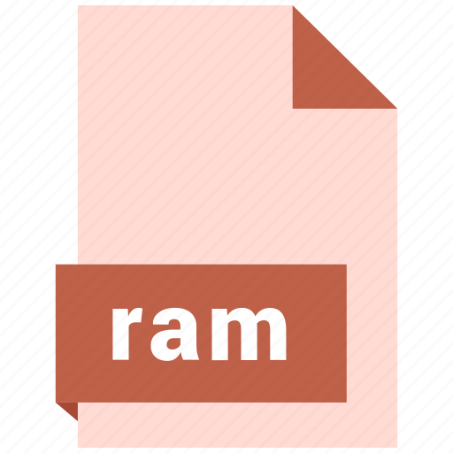 audio file format, audio file formats, file format, file formats, ram icon