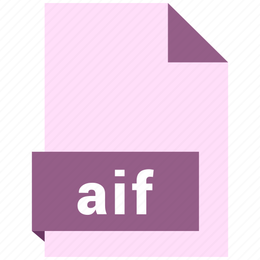 aif, audio file format, audio file formats, file format, file formats icon