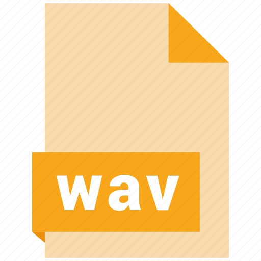 audio file format, audio file formats, file format, file formats, wav icon