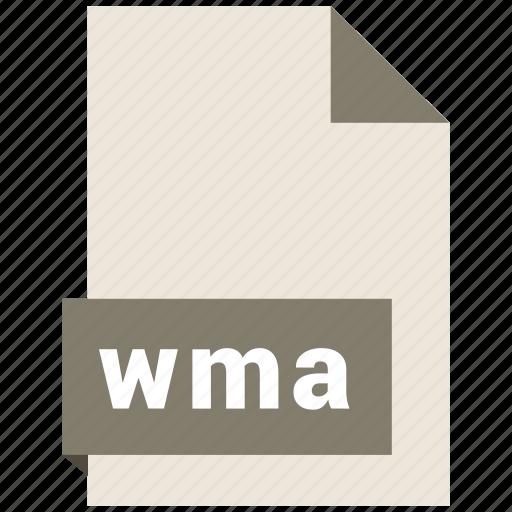 audio file format, audio file formats, file format, file formats, wma icon