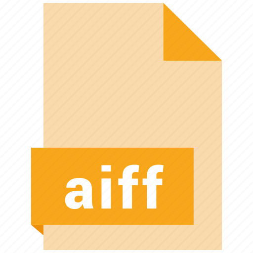 aiff, audio file format, audio file formats, file format, file formats icon