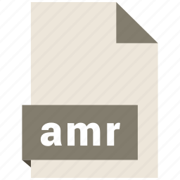 amr, audio file format, audio file formats, file format, file formats icon
