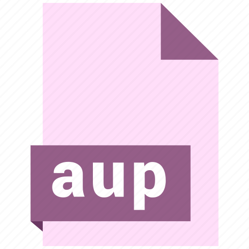 audio file format, audio file formats, aup, file format, file formats icon