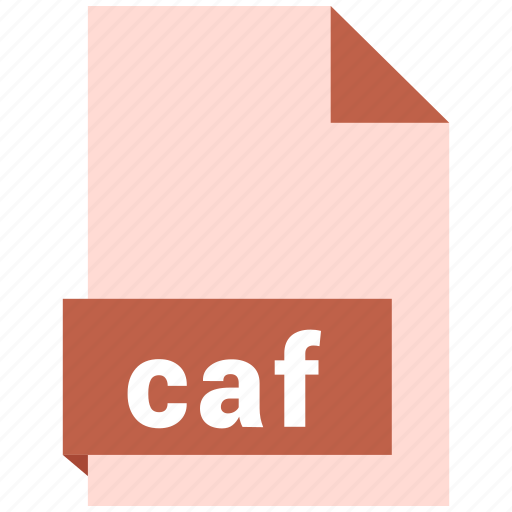 audio file format, audio file formats, caf, file format, file formats icon