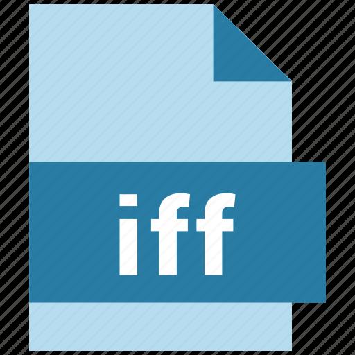 audio file format, iff icon