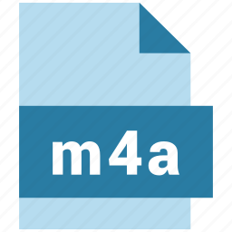 audio file format, file, format, m4a icon