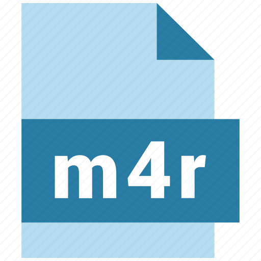 audio, audio file format, extension, file, format, hovytech, m4r icon