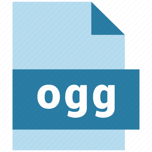 audio file format, documents, files, ogg icon