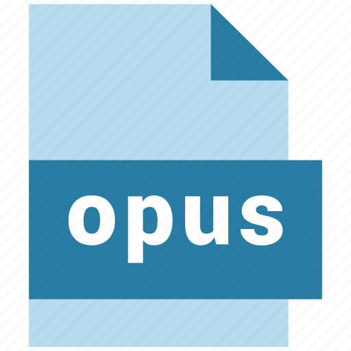 audio, audio file format, extension, file, format, hovytech, opus icon