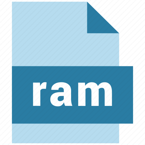 audio file format, document, ram icon