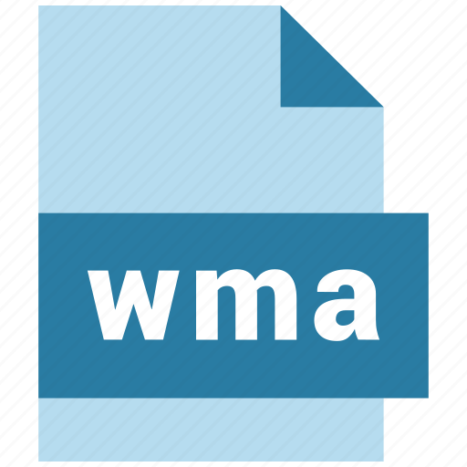 audio file format, extension, file, format, wma icon