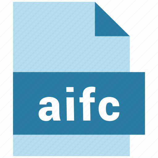 aifc, audio, audio file format, extension, format, hovytech, type icon