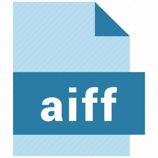 aiff, audio file format, file icon