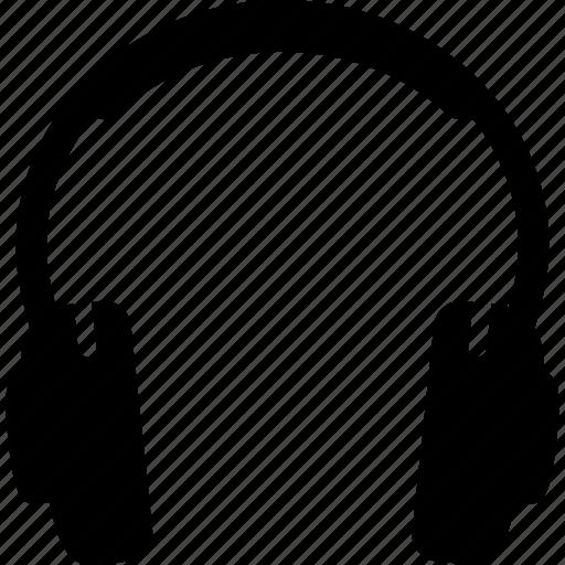 ear, electronics, headphones, headset, listen, music, sound icon