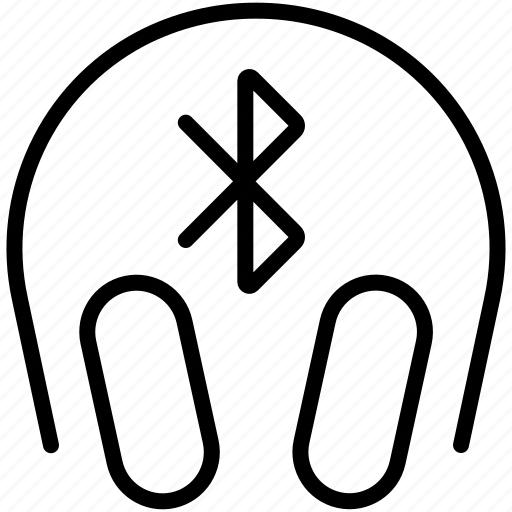 audio, bluetooth, earphones, headphones, music, sound icon