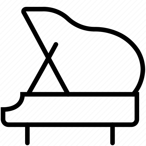 audio, instrument, keyboard, music, orchestra, piano, song icon