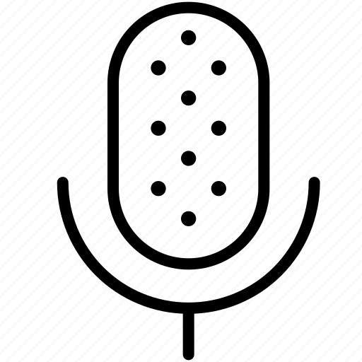 microphone, music, on air, radio, record, song, sound icon