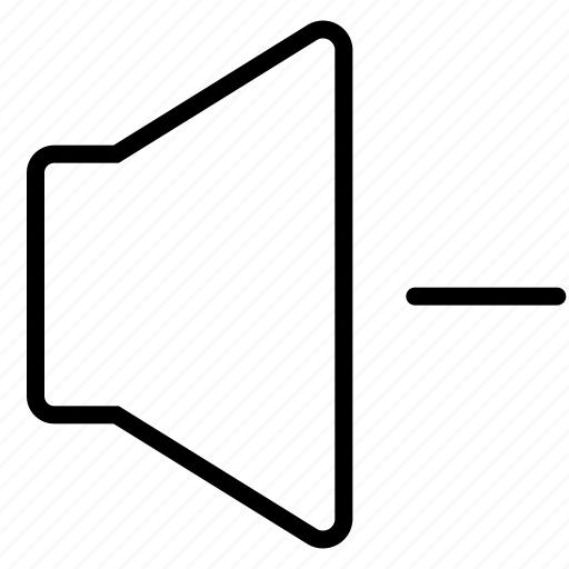 audio, interface, music, mute, sound, speaker, volume icon