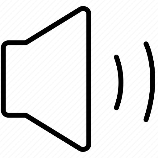 audio, interface, music, sound, speaker, ui, volume icon