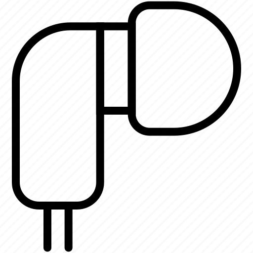 airpods, audio, earphones, headphone, music, sound, technology icon