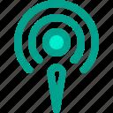 podcast, radio, signal icon