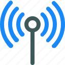 broadcast, radio, signal icon