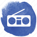boom, boombox, listen, music, radio, sound, stereo icon