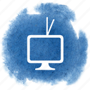 av, retro, show, television, tv, video, watch icon
