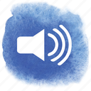 audible, audio, high, loud, sound, volume icon