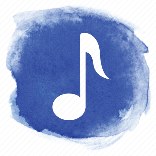eighth, music, notation, note, sheet music, song, sound icon