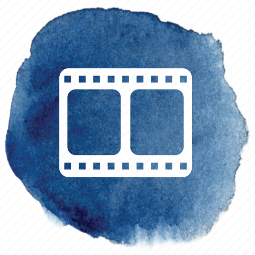 film, filmstrip, hollywood, movie, movies, video icon