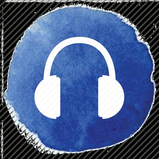 audio, headphones, listen, music, song, volume icon