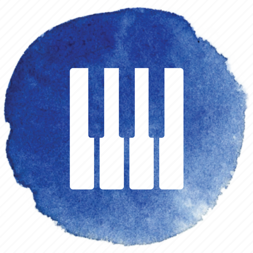 keyboard, keys, music, note, notes, piano, play icon