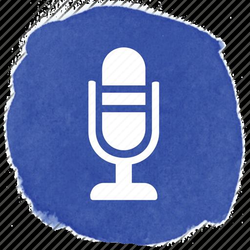 amplification, amplify, audio, microphone, retro, tabletop, vintage icon