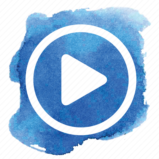 audio, av, circle, music, play, song, video icon