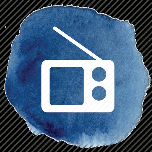 am, av, fm, radio, retro, sound, vintage icon