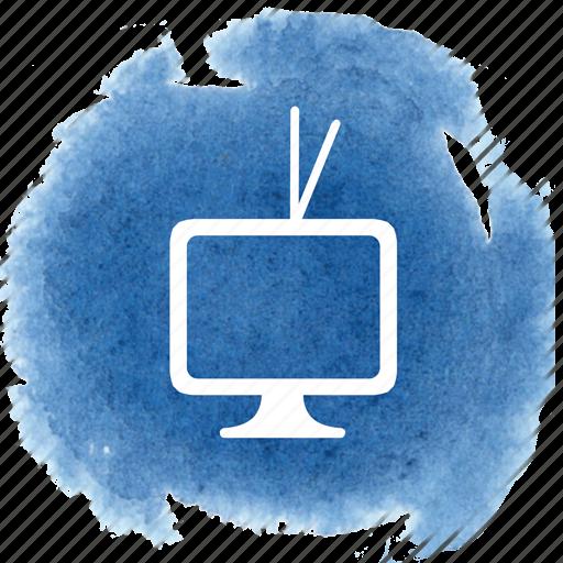 av, retro, show, television, tv, video, watch icon
