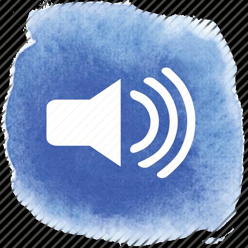 audible, audio, high, loud, sound, volume icon
