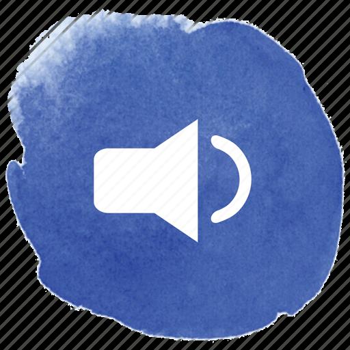 audio, low, lower, volume icon