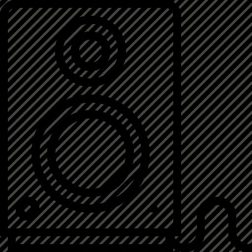 audio, audiophile, hifi, music, speaker, speakerleft icon