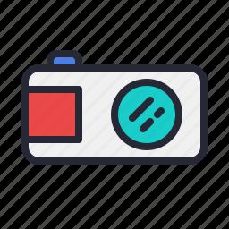 camera, digital, lens, photo, photography icon