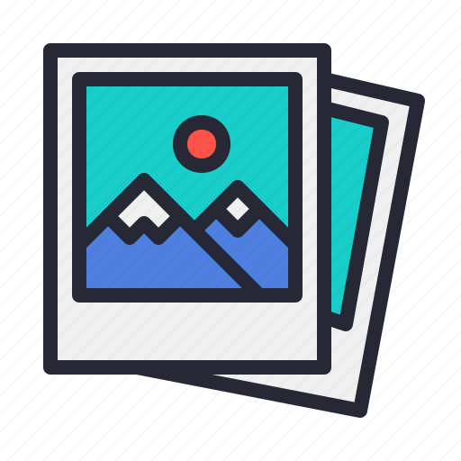 file, image, jpeg, photo, photography, polaroid icon