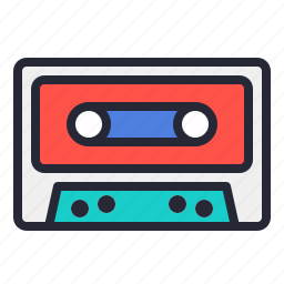 audio, music, old, record, tape, vintage icon