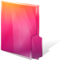 aurora, close, folders icon