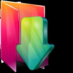 Aurora Download Folder Icon