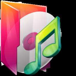 aurora, folder, itunes, music icon