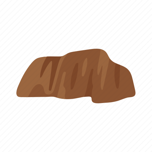 australia, brown, colorful, landmark, object, rock icon